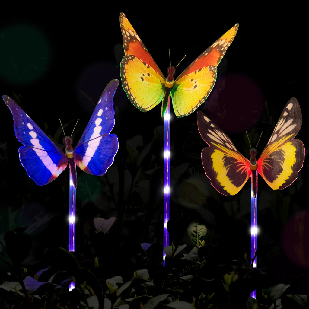 Multi-color Butterfly SolaPowered Garden Light - Smarthomeapp