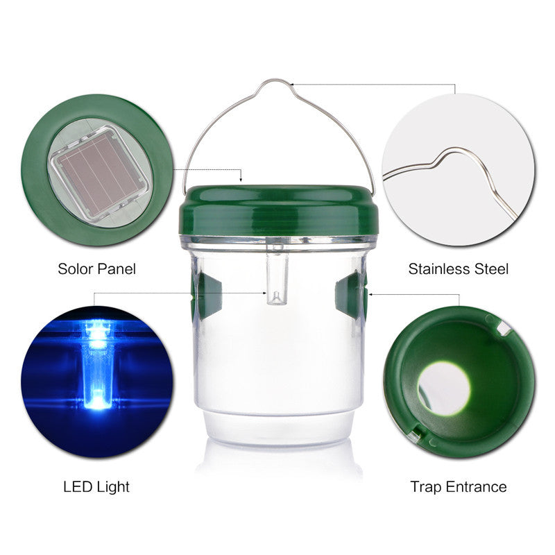 Solar Powered Insects Trap - Smarthomeapp