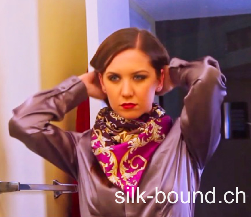CHRISSY kidnapped in silk fashion