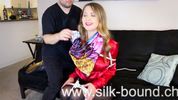 MAKING OF ... Scarf Club IV .... with Captive Chrissy Mary