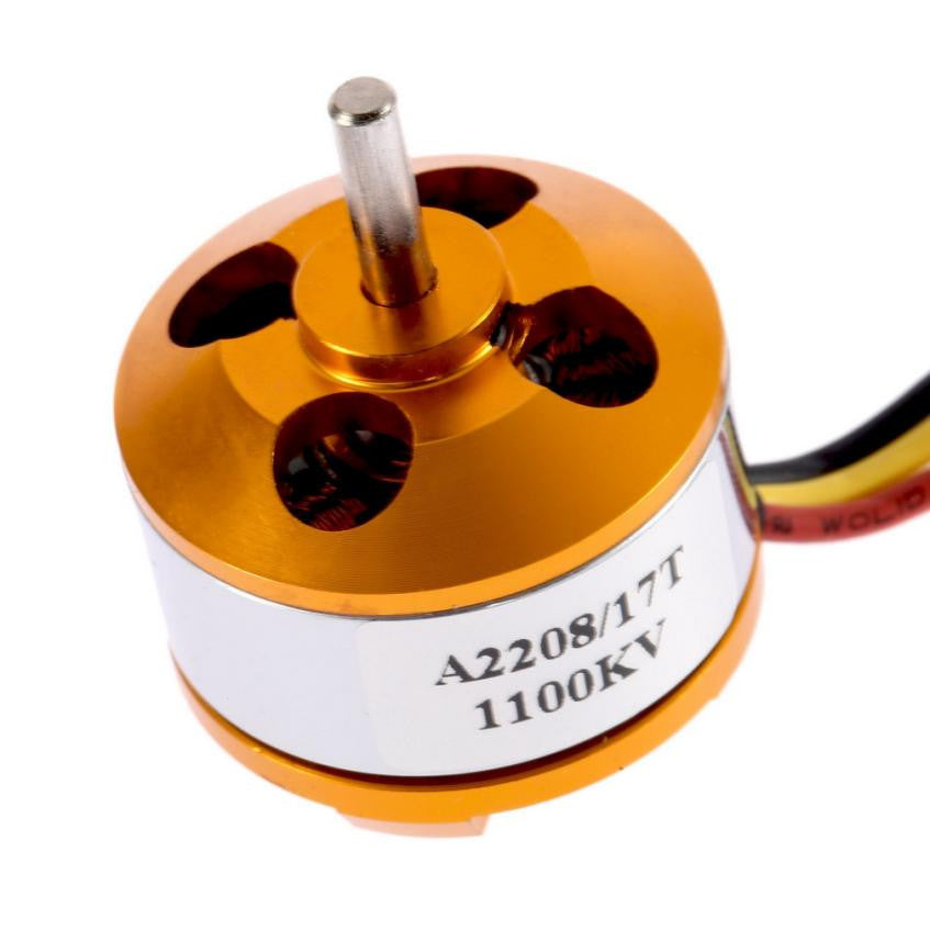 Mini Drone Motor A2208 KV1100 Brushless Electric Motor for RC Fixed Wing 4-Axis Multicopter RC helicopter accessories #25