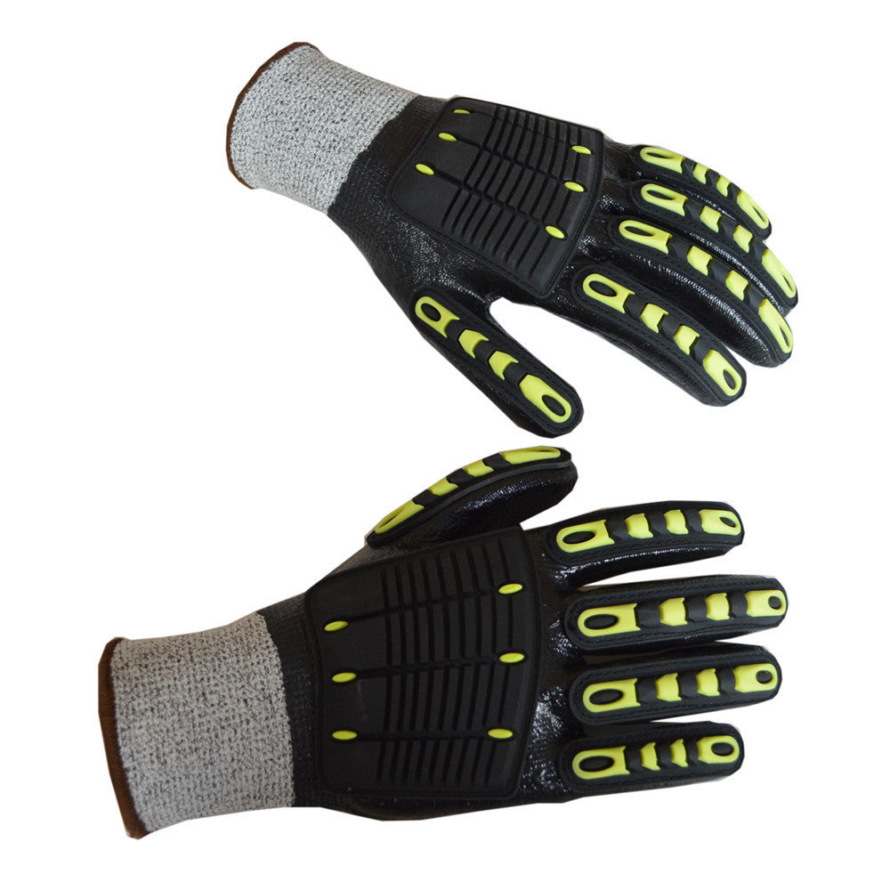 Gel Coated Mountain Biking Gloves