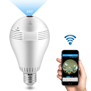 Motion Detection Hidden camera LED Light Bulb