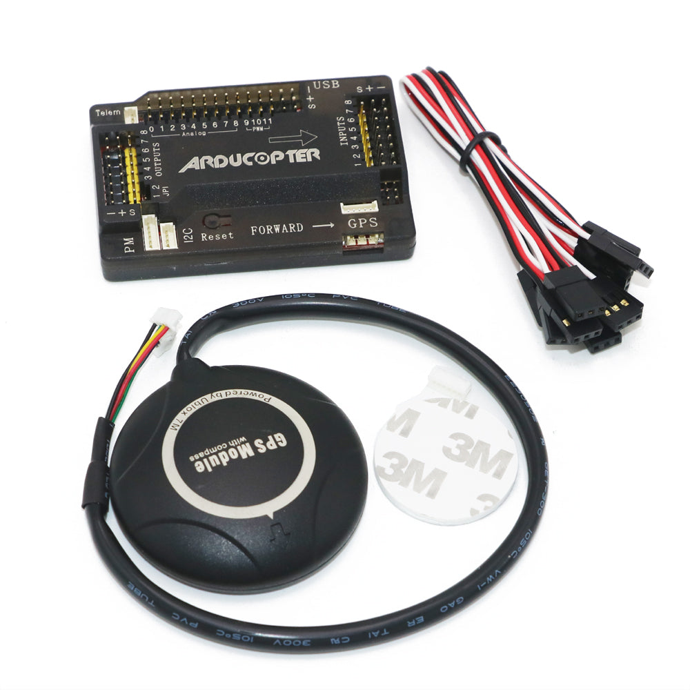 APM 2.8 ArduPilot Mega External Compass APM Flight Controller  with Ublox NEO-7M GPS for FPV RC Drone Aircraft