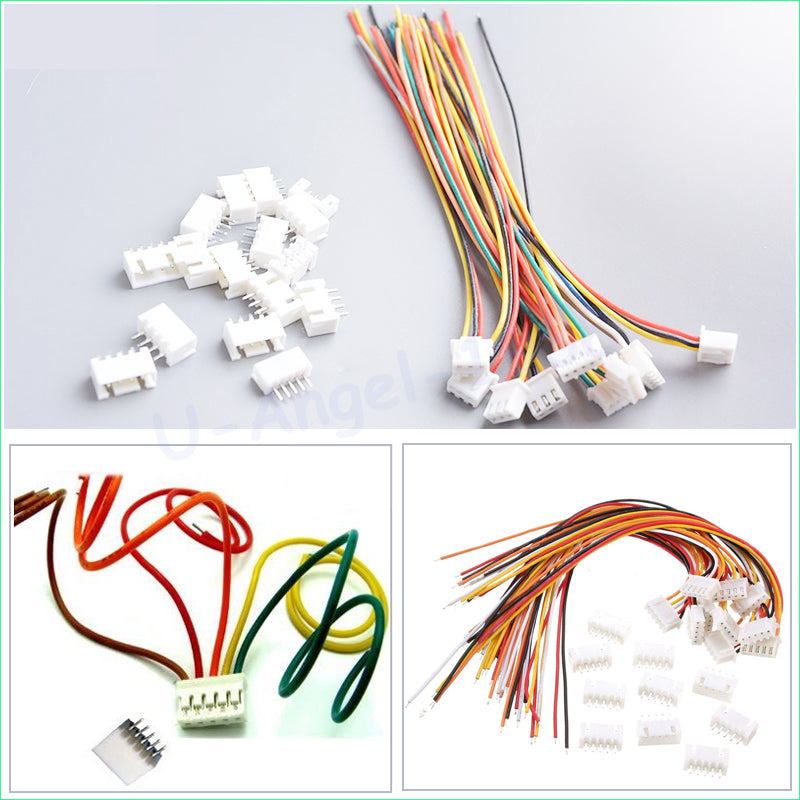 10 pair 4S1P cable male and female plug RC lipo battery balance cable with connector plug 4S battery