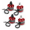 4pcs/lot KINGKONG 1806 V2 2-4s 2280KV 2CW 2CCW Brushless Motor For FPV Racer Drones RC Multicopter