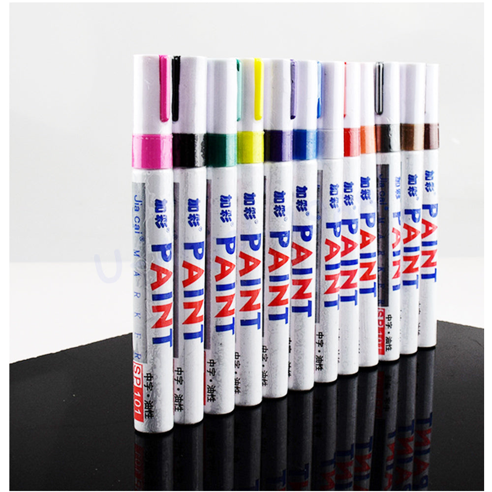 5pcs/lot Universal FPV DIY Colorful Paint pen Ink Marker Drawing Doodling Pen for FPV Racer Drone RC Multicopte