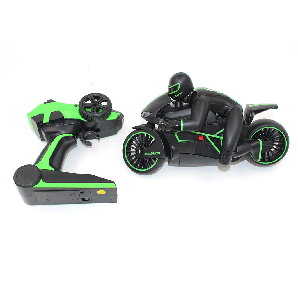 RC Children Toys Car High-speed Motorcycle - Green (Euro Plug)