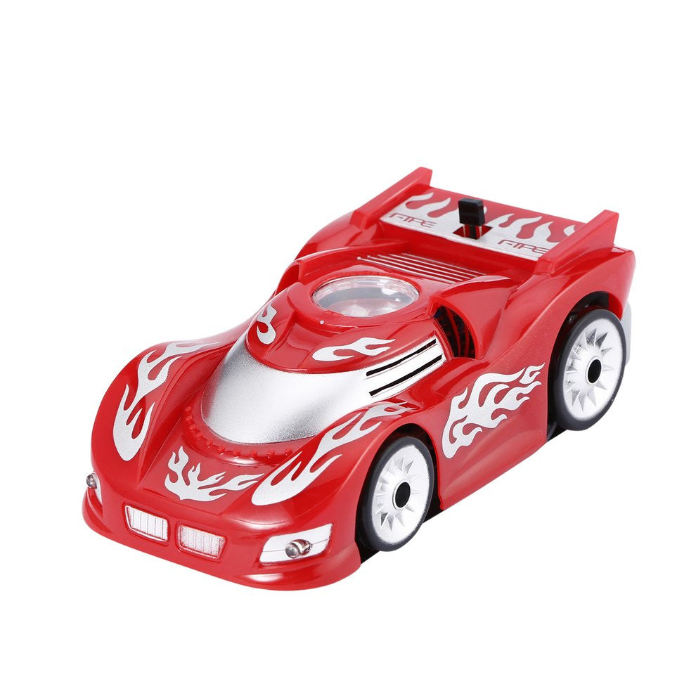 ABS Cool Shape Zero Gravity Magic Wall Floor Climber Climbing RC Racer Remote Control Kid Toy Wall Racing Mini Car