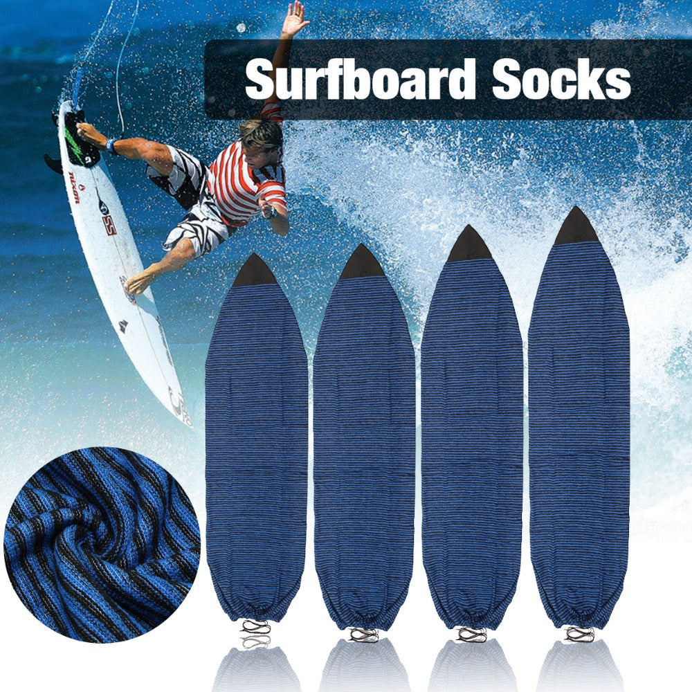 New Arrival Water Sports 6''/6.3''/6.6''/7'' Surfboard Socks Cover Surf Board Protective Bag Storage Case