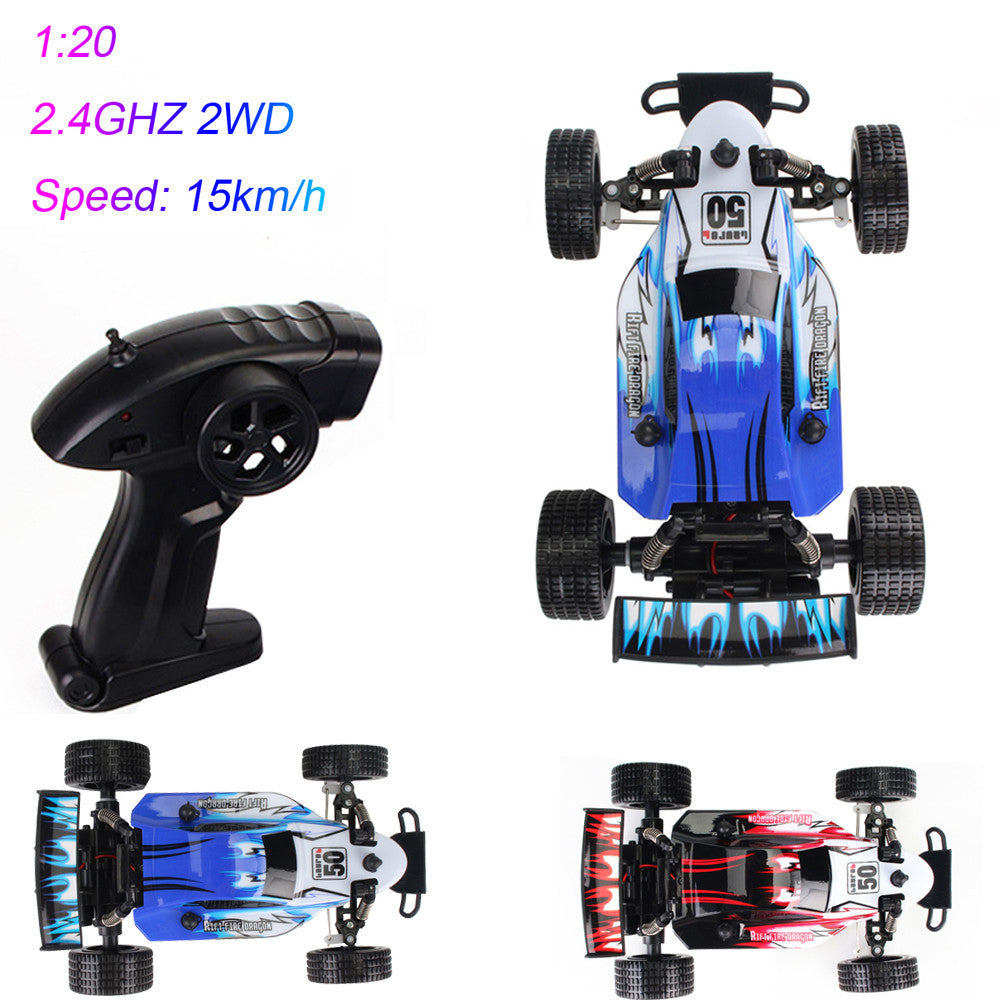 1:20 2.4GHZ 2WD Radio Remote Control Off Road RC RTR Racing Car Truck GN