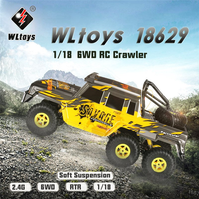 1/18 2.4G 4WD Racing RC Car Electric Crawler Truck Off Road