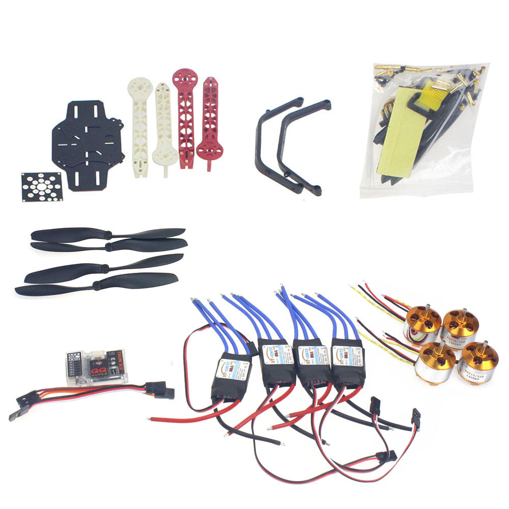 RC Drone Quadrocopter  Aircraft Kit F330 MultiCopter Frame QQ Super Flight Control No Transmitter No Battery F02471-I