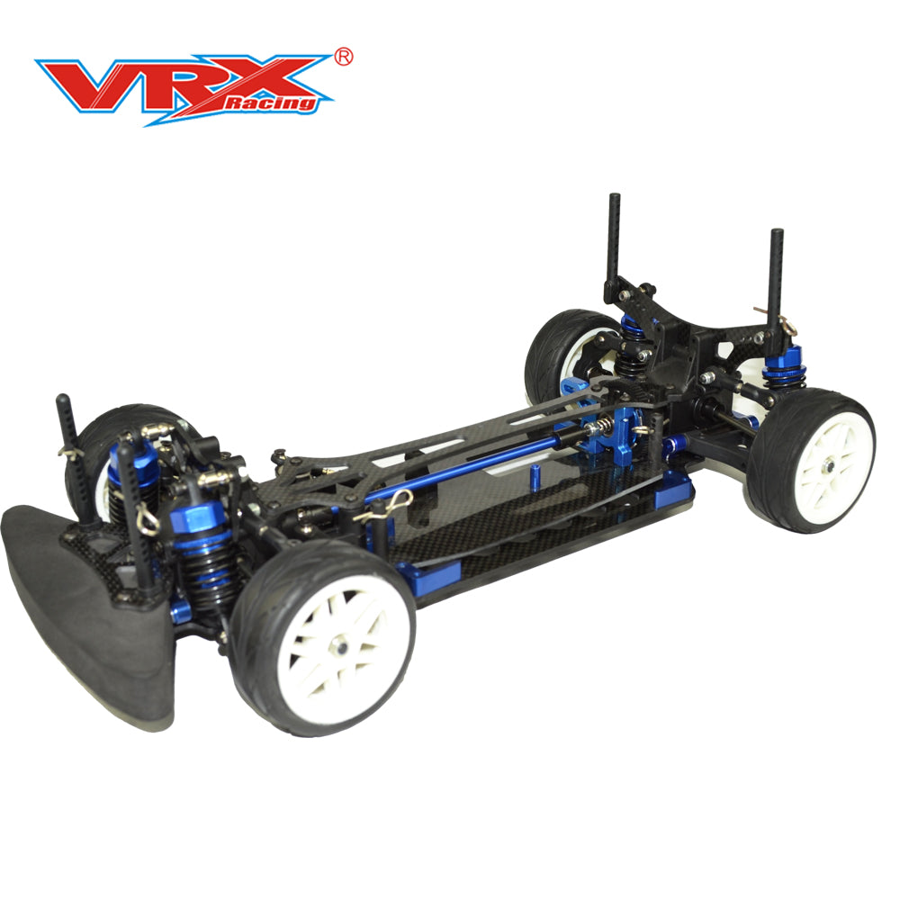 VRX 1/10 Scale 4WD Electric On-Road Race Car Kit!!