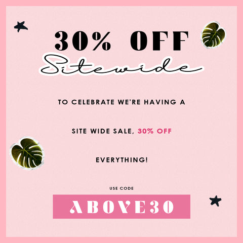 30% Off Sitewide - Code: Above30