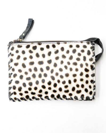 Spotted Cowhide Wallet
