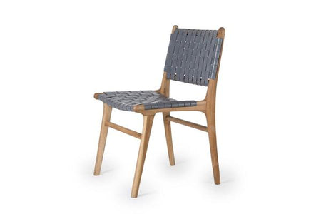 Dining Chair Woven- Grey