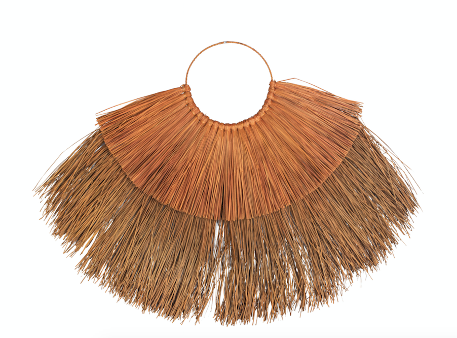 Seagrass Wall Hanging- Terracotta