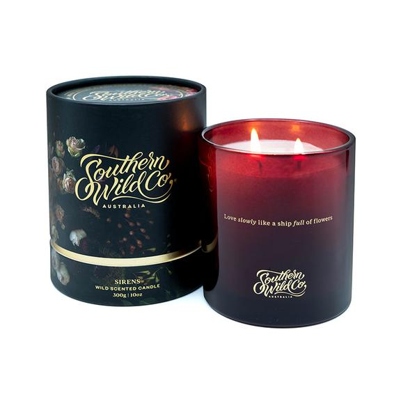 Sirens Scented Candle- Southern Wild Co