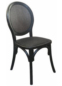 Island Dining Chair- Black