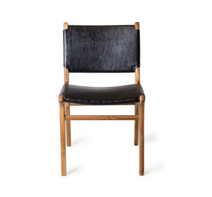 Dining Chair Flat- Black