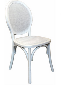 Island Dining Chair- White