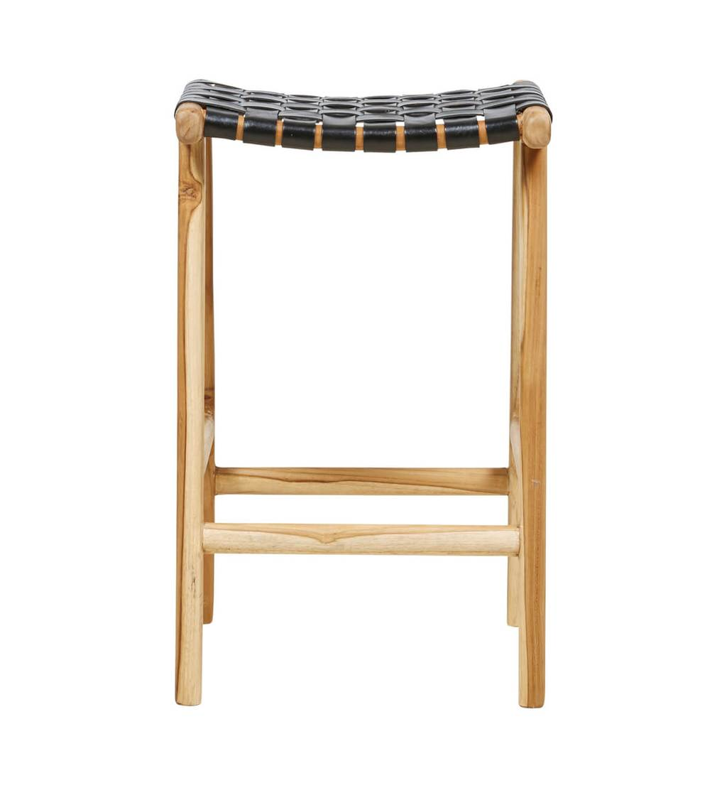 Bar Stool Woven - Black (Pre Order Only)