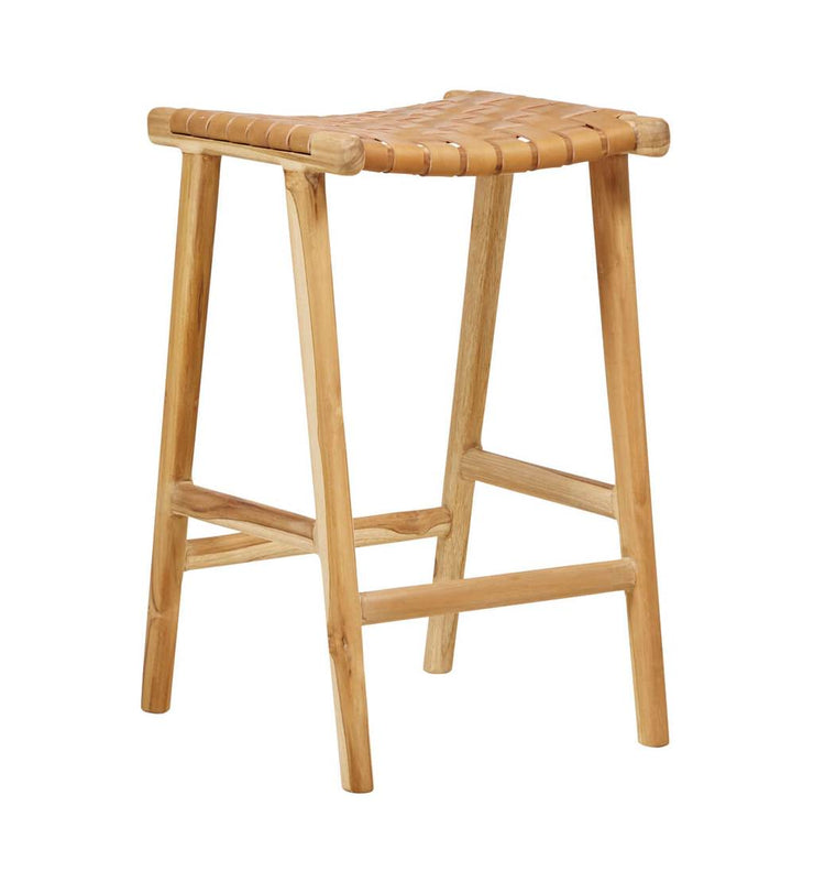 Bar Stool Woven - Tan