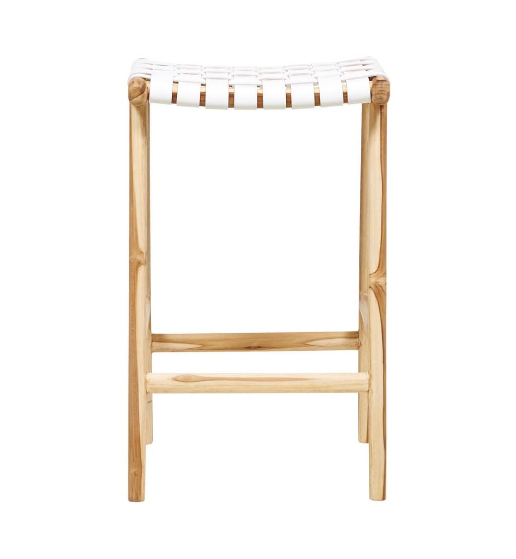 Bar Stool Woven - White (Pre Order Only)