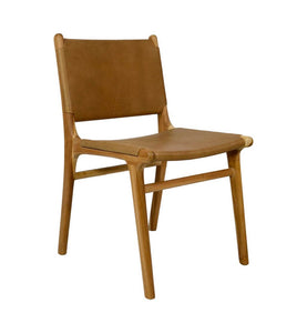 Dining Chair Flat - Tan