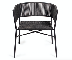 Kora Dining Chair- Black