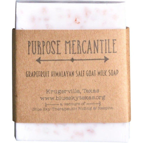 Grapefruit Himalayan Sea Salt Goat Milk Soap