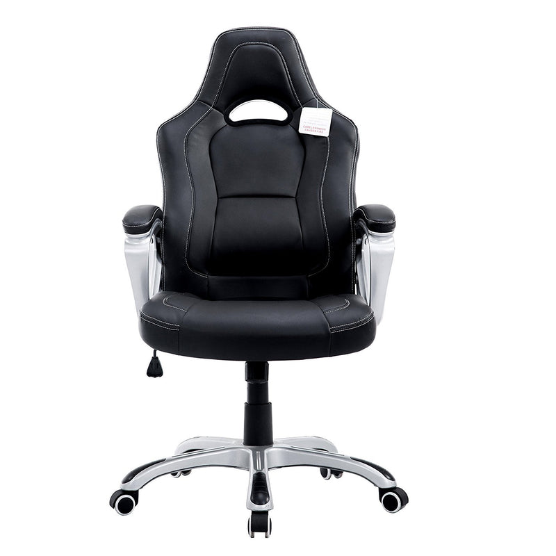 DaAls-Racing-Sport-Swivel-Office-Chair-in-Black 1