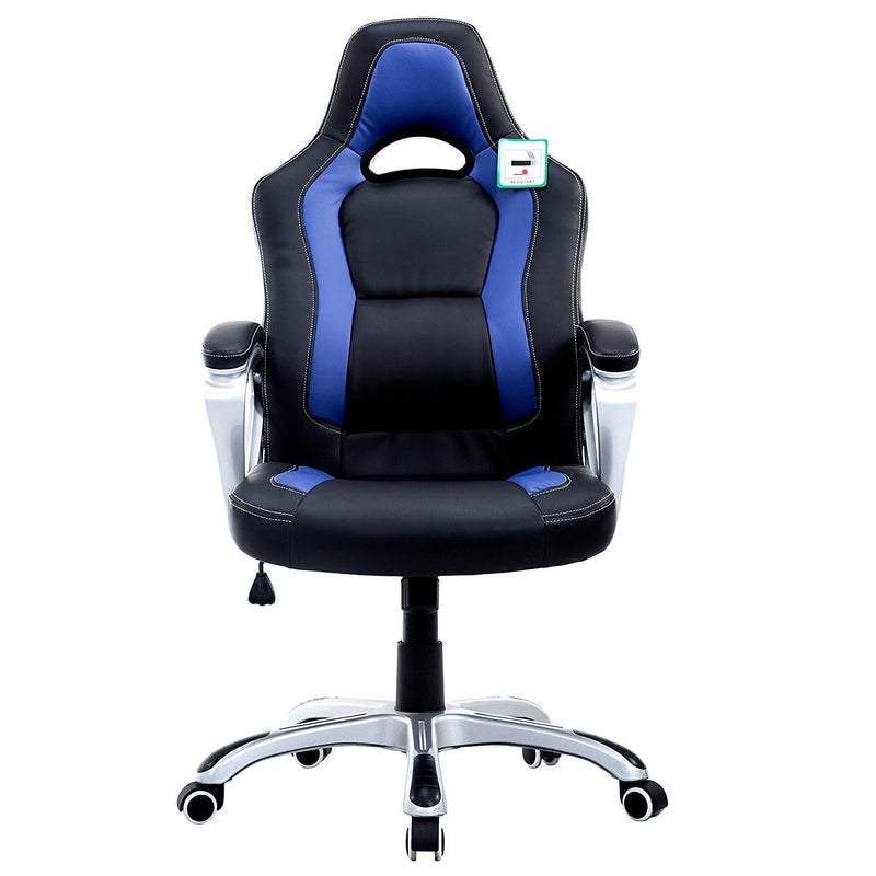 DaAls-Racing-Sport-Swivel-Office-Chair-in-Black-Blue 1