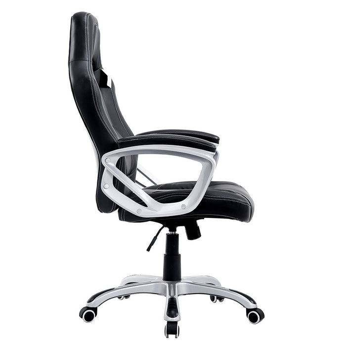 DaAls-Racing-Sport-Swivel-Office-Chair-in-Black 2