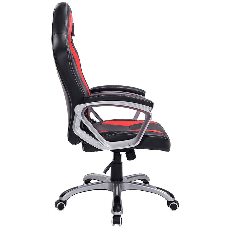 DaAls-Gaming-Chair-Racing-Sport-Style-Swivel-Office-Chair-in-Black-Red 2