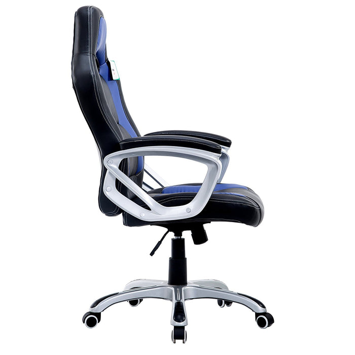 DaAls-Racing-Sport-Swivel-Office-Chair-in-Black-Blue 2