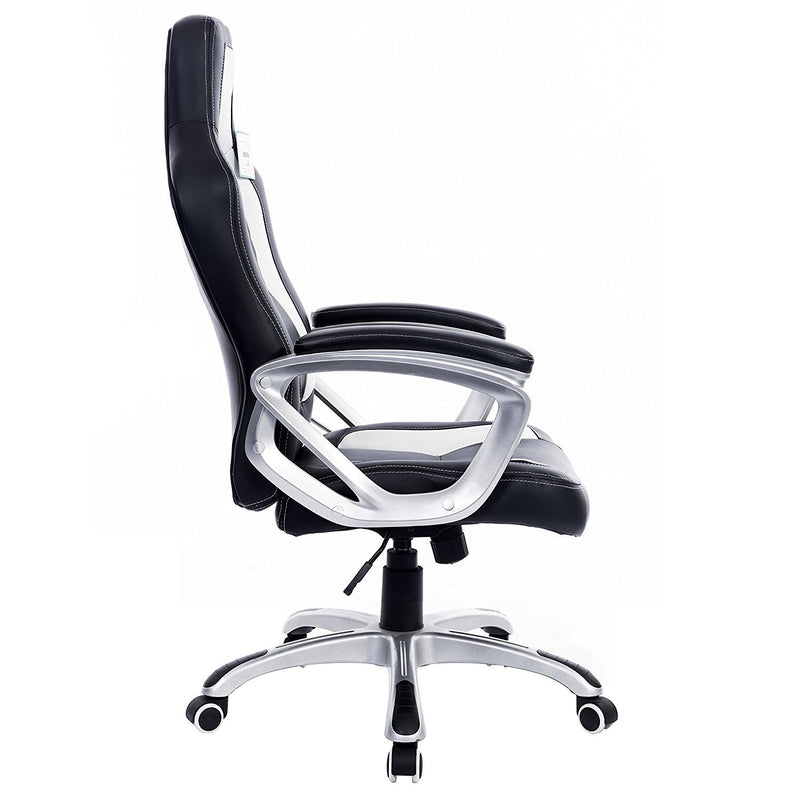 DaAls-Racing-Sport-Swivel-Office-Chair-in-Black-White 2