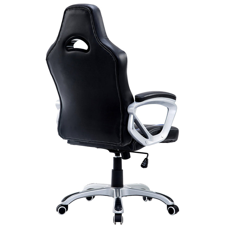 DaAls-Racing-Sport-Swivel-Office-Chair-in-Black-Blue 3