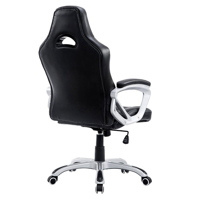 DaAls-Racing-Sport-Swivel-Office-Chair-in-Black 3
