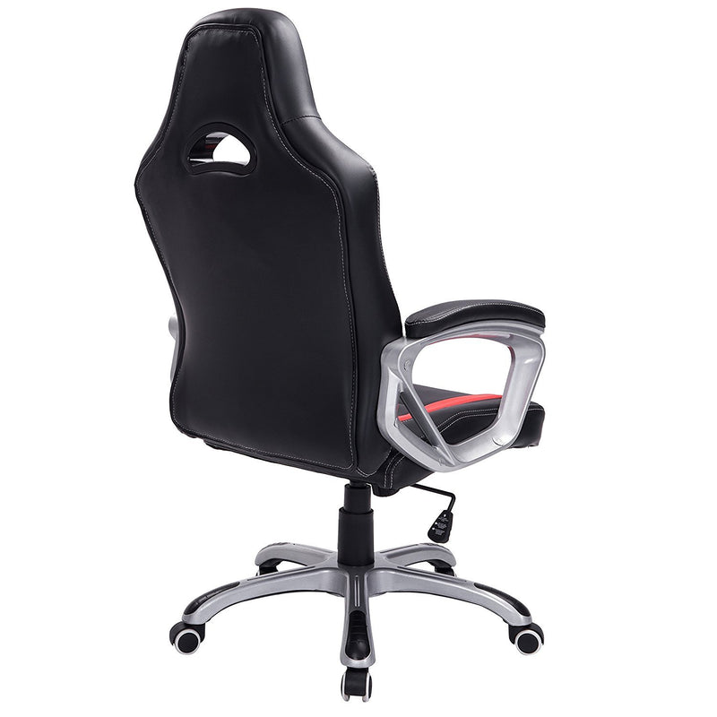 DaAls-Gaming-Chair-Racing-Sport-Style-Swivel-Office-Chair-in-Black-Red 3