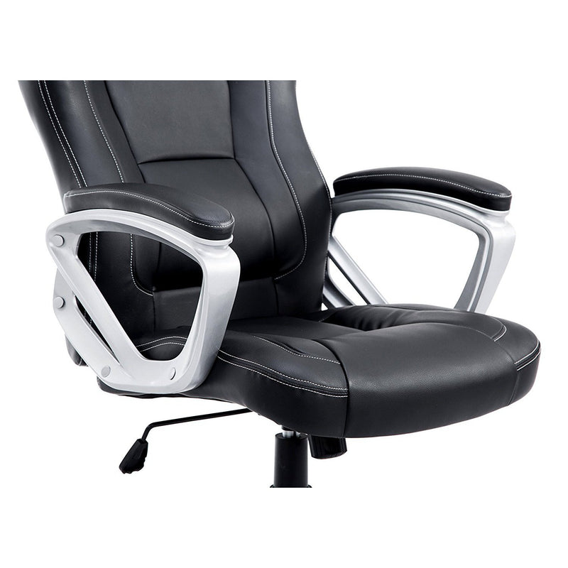 DaAls-Racing-Sport-Swivel-Office-Chair-in-Black 5
