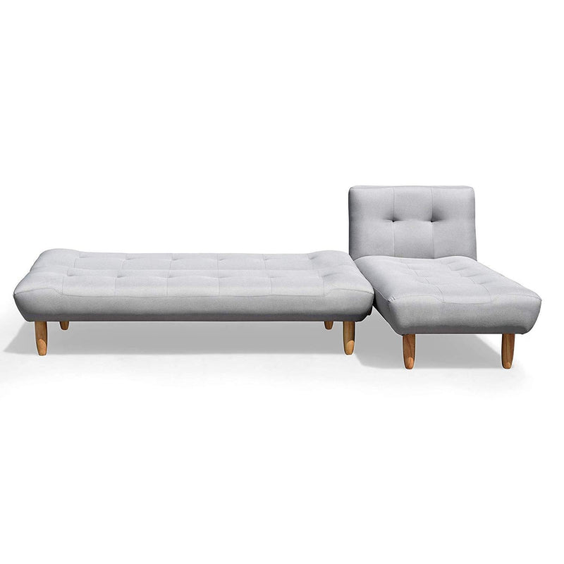 Groovy 2 1 Modular Sofa Bed Settee With Chaise Lounge L Shaped 3 Seater Corner Sofa Bed Grey Linen Uwap Interior Chair Design Uwaporg
