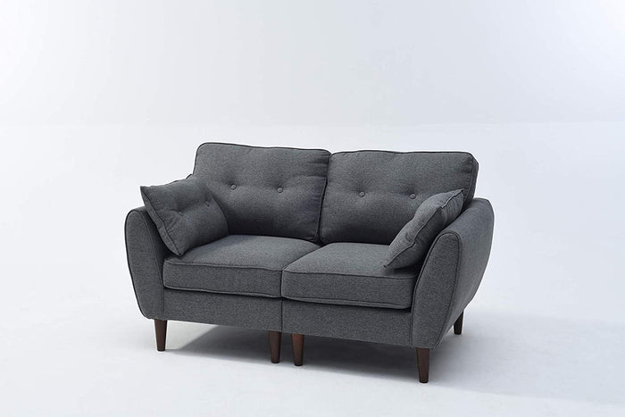 Brooks Fabric Sofa range in Stone Grey 5