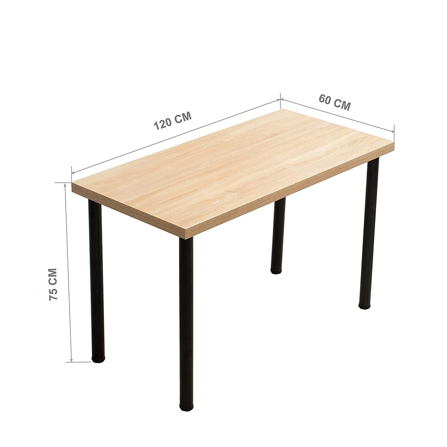 Incredible Simple Design Table Computer Desk 120 X 60 Cm Natural Download Free Architecture Designs Pushbritishbridgeorg