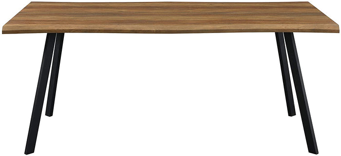 Kenora Wood Effect 150 cm Dining Table with Curved Edges 4 Seater 5
