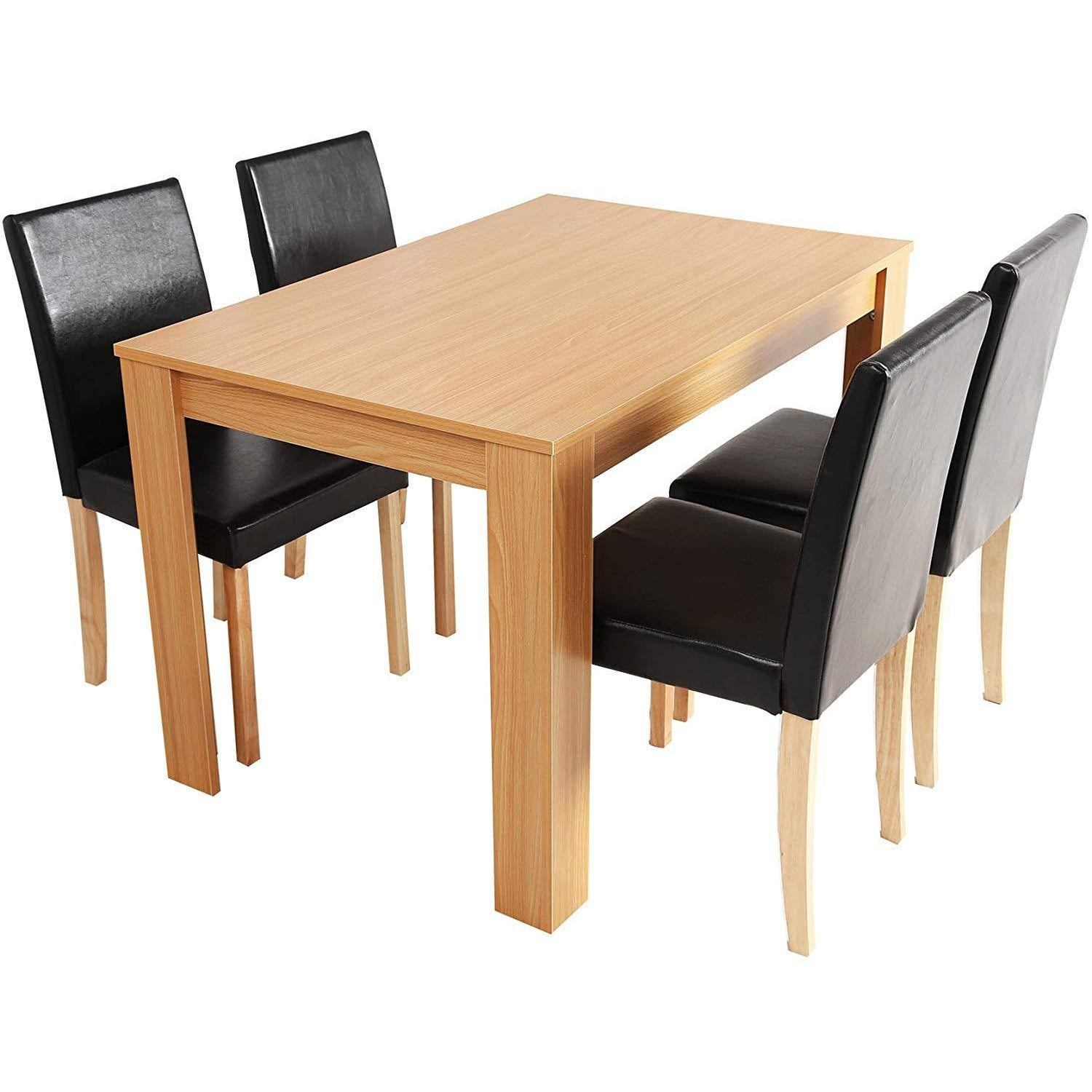 cherry tree furniture 5piece dining room set 4seater