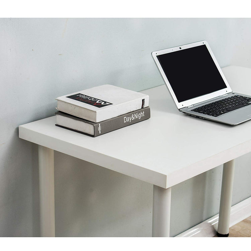 Simple Design Table Computer Desk 120 x 60 CM, White
