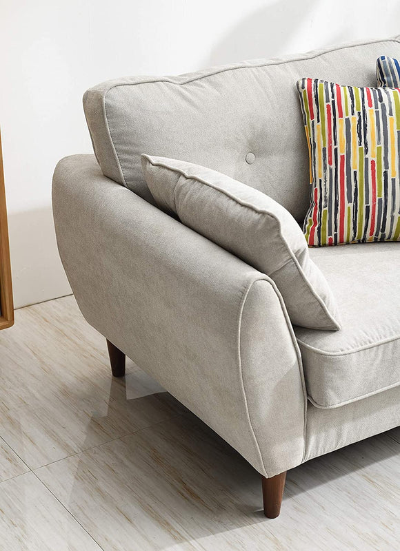 Brooks Fabric Sofa range in Stone Beige 17