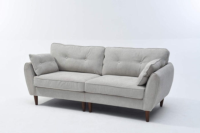 Brooks Fabric Sofa range in Stone Beige 11